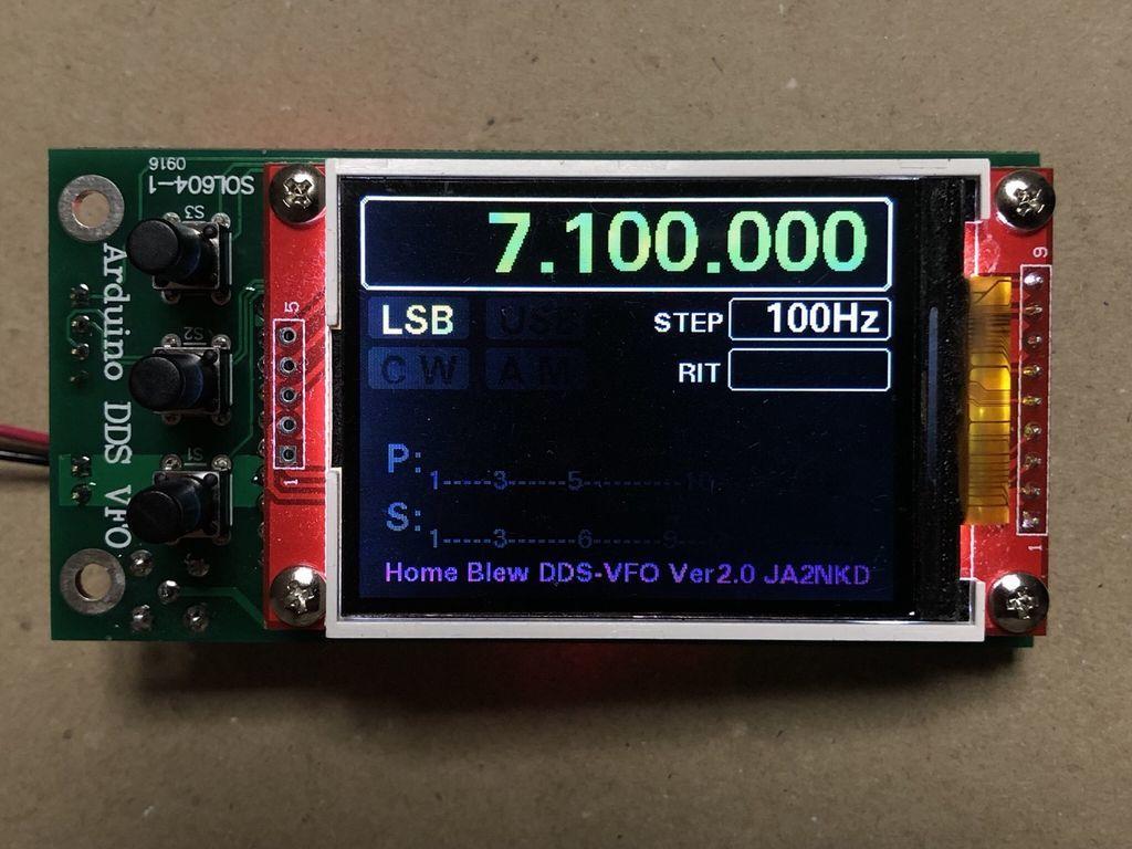 JA2NKD TFT AD9850 DDS Arduino VFO Soltecバージョン : マニアックな