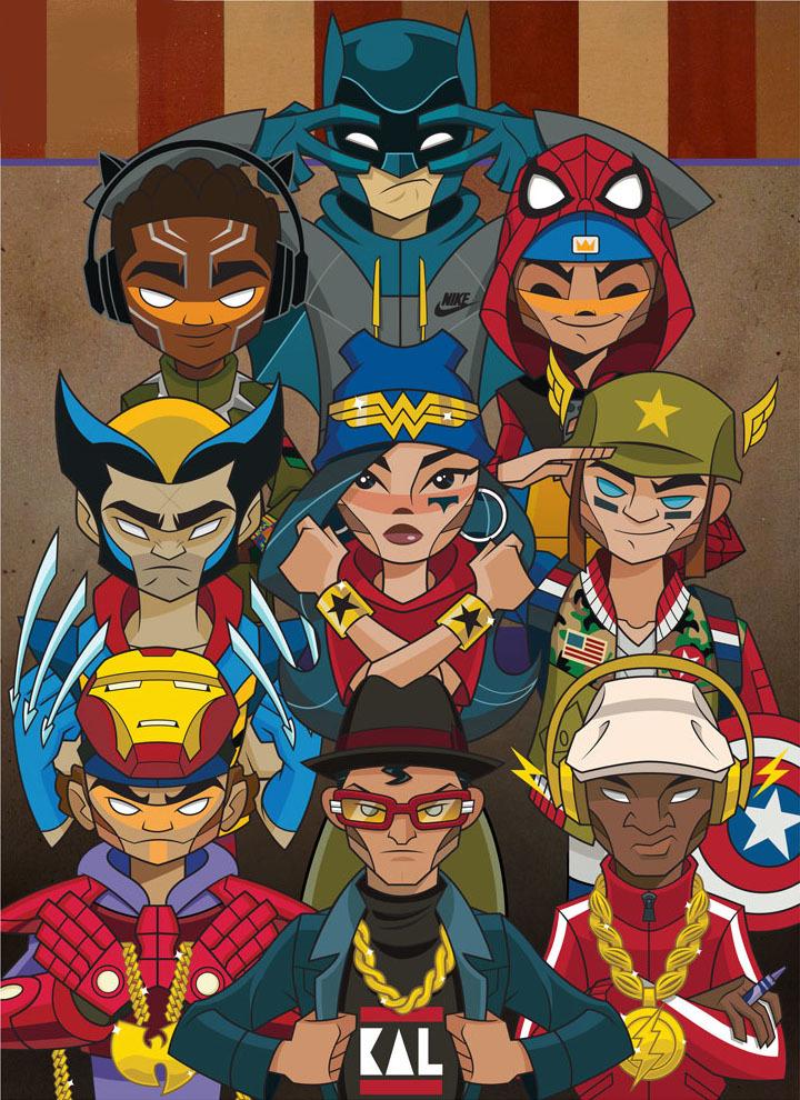 Heroes Print by kaNO_c0155077_00143641.jpg
