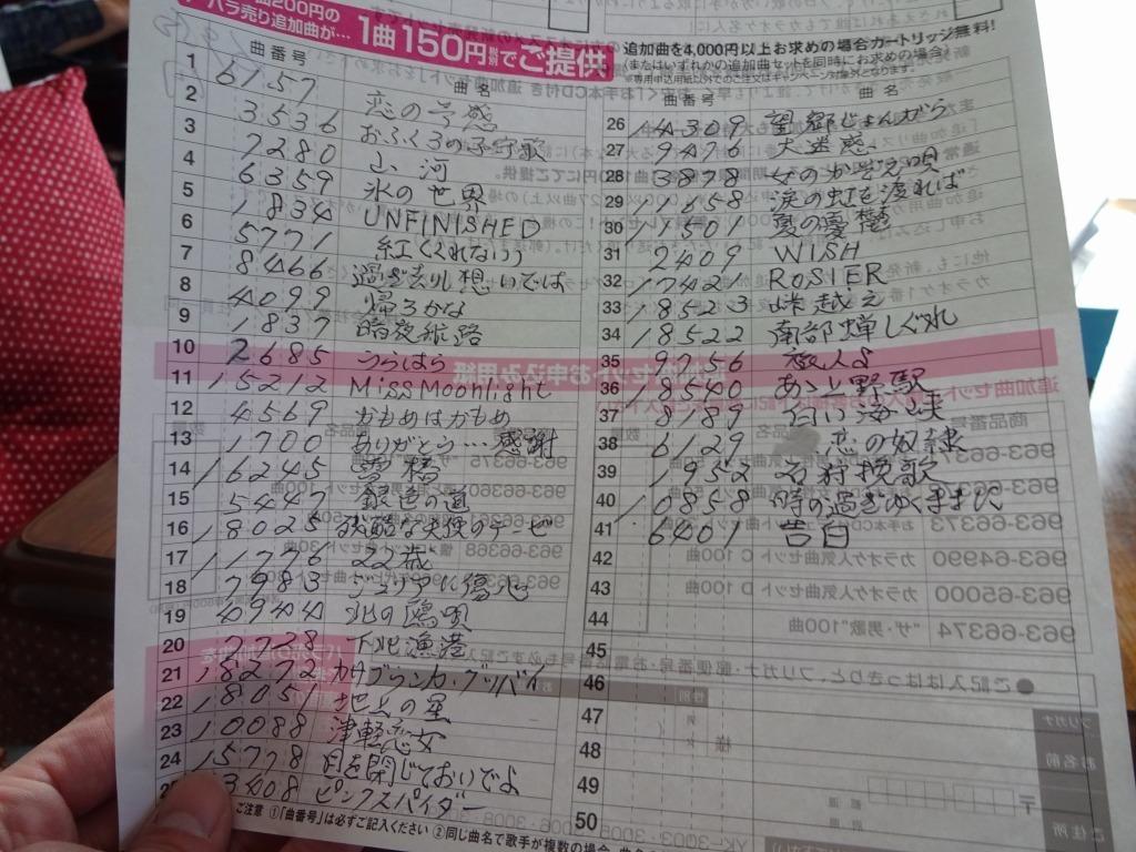 父親の手書きで「ROSIER」とか「ピンクスパイダー」うける_d0061678_17504179.jpg
