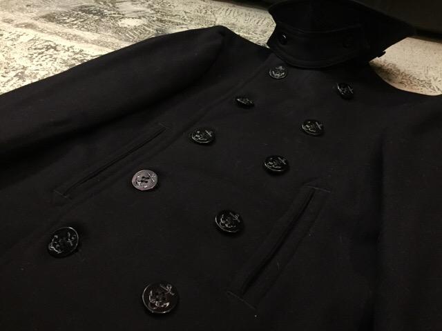 1月10日(水)大阪店ヴィンテージ入荷!#2 U.S.Navy編!NOS U.S.CoastGuard 10-ButtonP-Coat!!(大阪アメ村店)_c0078587_1958371.jpg