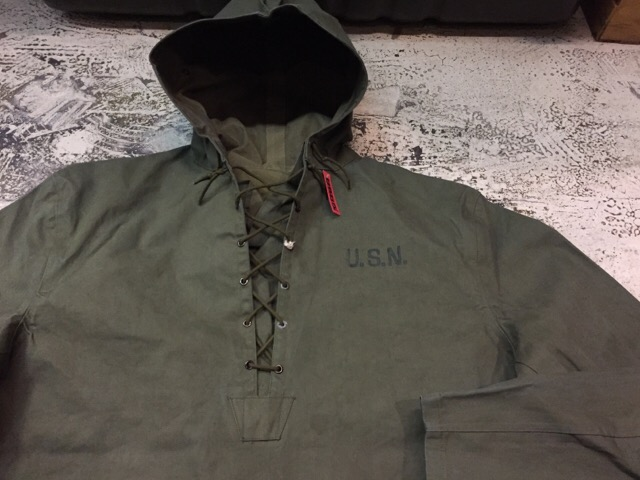 1月10日(水)大阪店ヴィンテージ入荷!#2 U.S.Navy編!NOS U.S.CoastGuard 10-ButtonP-Coat!!(大阪アメ村店)_c0078587_20144359.jpg