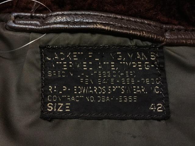 1月10日(水)大阪店ヴィンテージ入荷!#2 U.S.Navy編!NOS U.S.CoastGuard 10-ButtonP-Coat!!(大阪アメ村店)_c0078587_20165597.jpg
