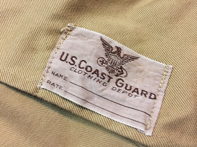 1月10日(水)大阪店ヴィンテージ入荷!#2 U.S.Navy編!NOS U.S.CoastGuard 10-ButtonP-Coat!!(大阪アメ村店)_c0078587_2085178.jpg