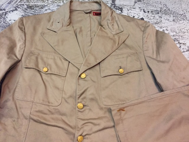 1月10日(水)大阪店ヴィンテージ入荷!#2 U.S.Navy編!NOS U.S.CoastGuard 10-ButtonP-Coat!!(大阪アメ村店)_c0078587_209011.jpg