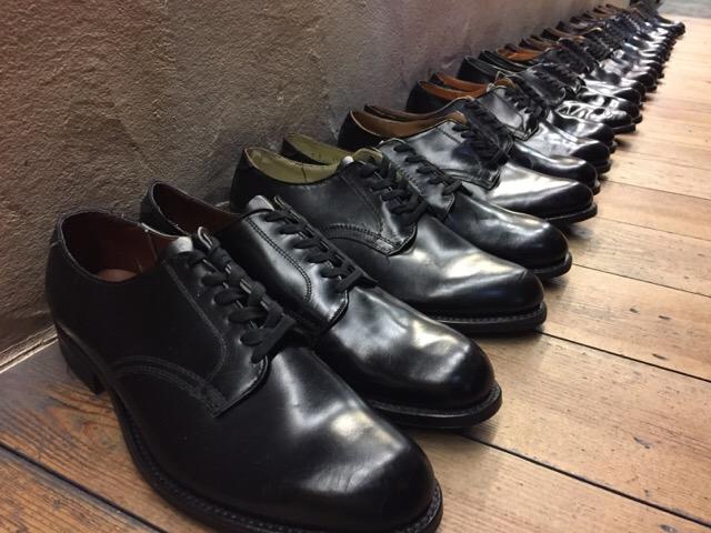 1月10日(水)大阪店ヴィンテージ入荷!#1 U.S.Navy編!NOS ServiceShoes!!(大阪アメ村店)_c0078587_21532891.jpg