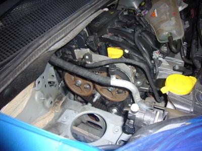 ルノー カングー 車検整備 タイミングベルト交換_c0267693_15502443.jpg