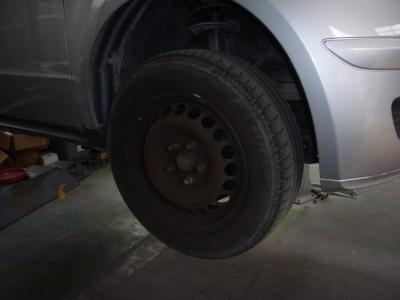 メルセデス・ベンツ A170 (W169)ブレーキ警告表示 整備_c0267693_15513552.jpg