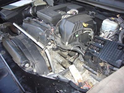 ハマーH3 エンジンチェックランプ点灯修理(サーモスタット交換)_c0267693_15521335.jpg