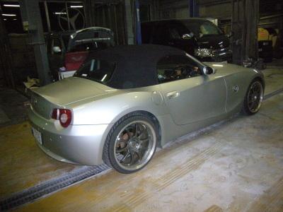 BMW Z4 ワイパーリレー交換_c0267693_16014552.jpg