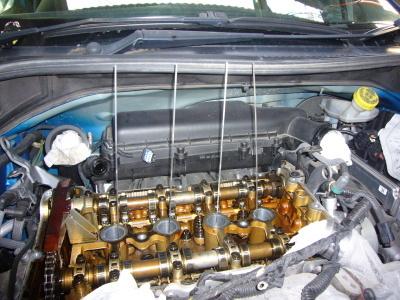 プジョー207SW エンジン異音整備 (タイミングチェーン交換)_c0267693_16060706.jpg