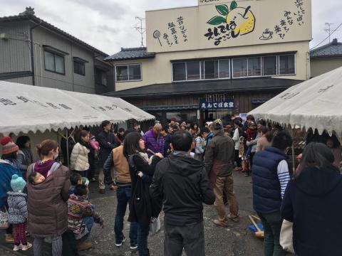 2018.1.8 新春!ふれあい餅つき大会 楽しかったです。_f0309404_20223053.jpg