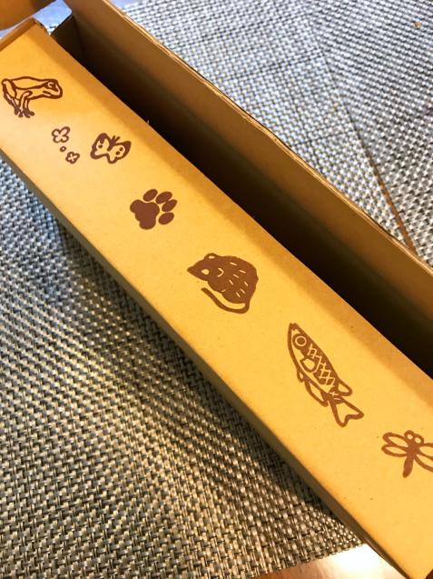 ツシマヤマネコ米の新パッケージ!_d0355333_21191596.jpg