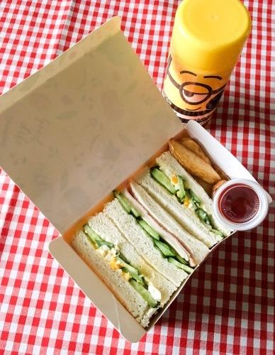 女子中学生のお弁当 サンドイッチ_b0048834_13512449.jpg