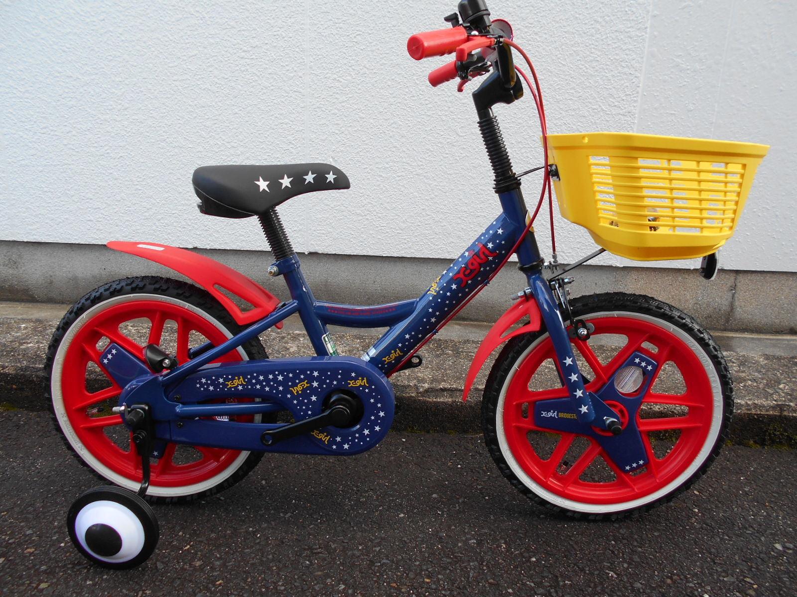 X-GIRLとBRIDGESTONEがコラボした子供車が特価で入荷!_b0189682_12025051.jpg
