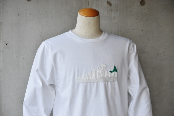 梅春に。。。O.K. 手刺繍・LONG TEE!  PUMP FURY etc.._d0152280_22132832.jpg