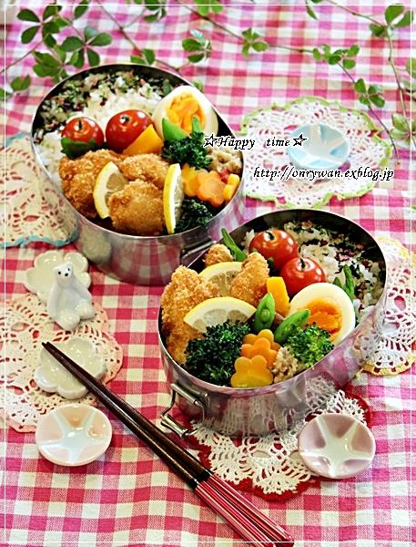 チキンカツ弁当と今夜は新蕎麦でおうちごはん♪_f0348032_18503157.jpg