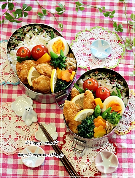 チキンカツ弁当と今夜は新蕎麦でおうちごはん♪_f0348032_18504149.jpg