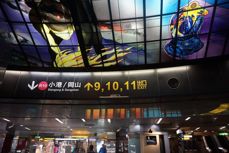 高雄の美麗島駅_c0112559_09041817.jpg
