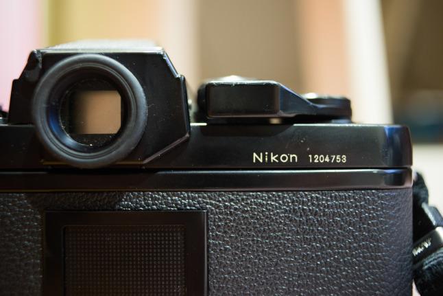 ★超初期ロットの「NIKON F3」が我が家に来てしまった^^;_e0291683_22430480.jpg