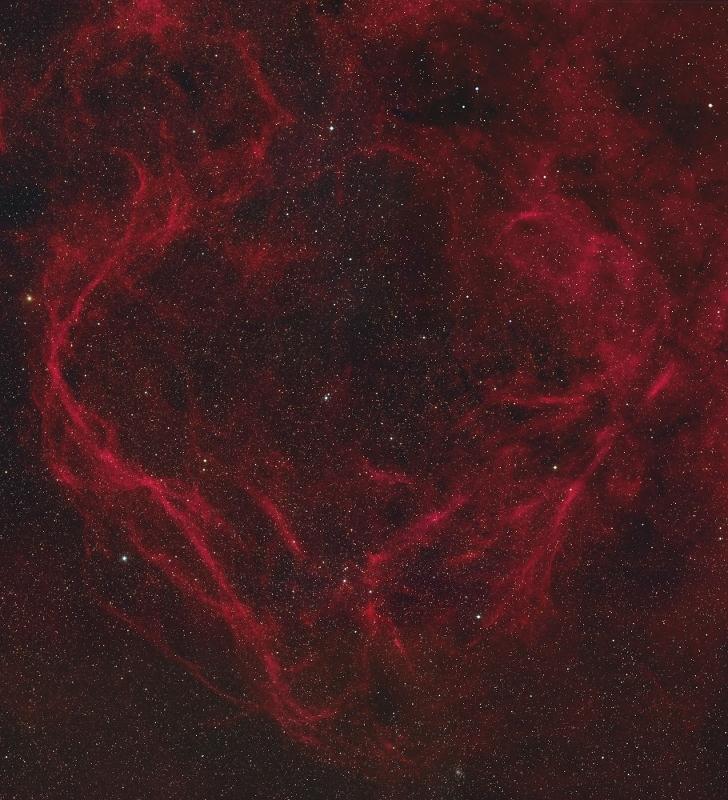 南天のさいだん座の美しい超新星の爆発痕RCW114_d0063814_12100337.jpg