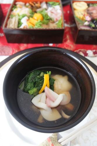 【関東風のお雑煮 (レシピ) 】_f0215714_15333481.jpg