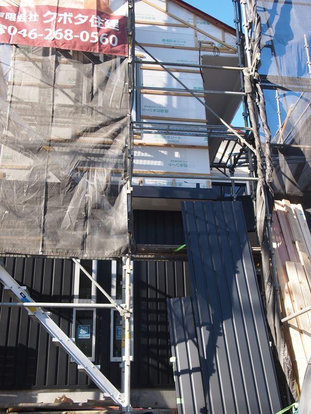 原町田の家☆外壁工事始まりました^^_c0152341_11312752.jpg