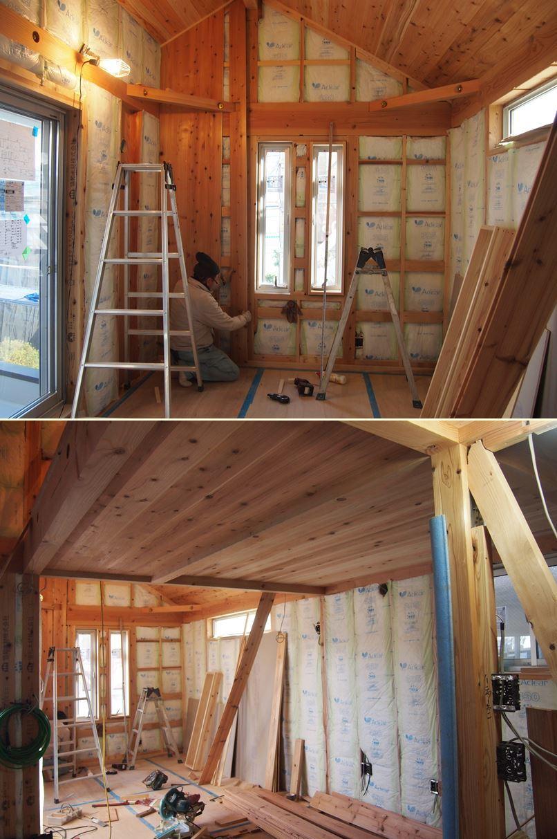 原町田の家☆外壁工事始まりました^^_c0152341_11324145.jpg