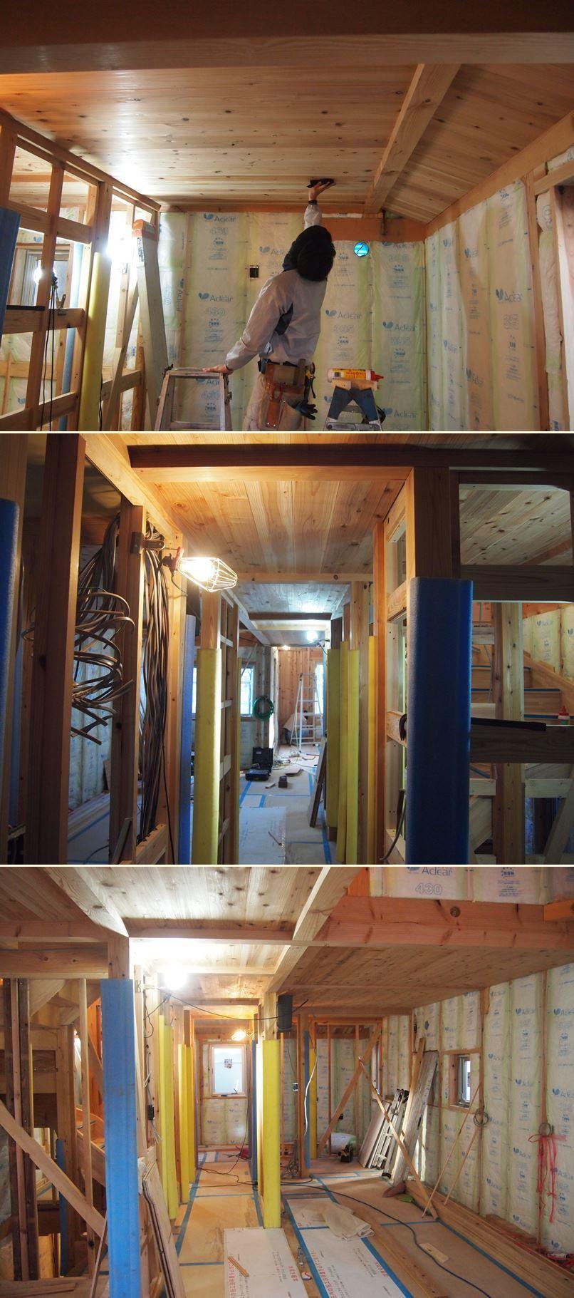 原町田の家☆外壁工事始まりました^^_c0152341_11332809.jpg