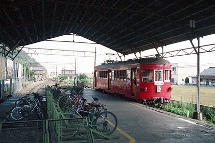 名古屋鉄道揖斐線 本揖斐駅_e0030537_17435531.jpg