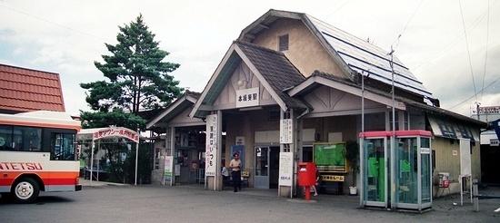 名古屋鉄道揖斐線 本揖斐駅_e0030537_17435572.jpg