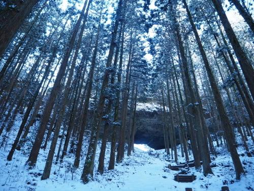 雪の上色見熊野座神社⛩_f0006649_12255798.jpg