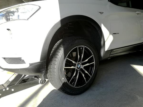 BMW X3 スタッドレスタイヤ&ホイールセット_e0288784_00400282.jpg