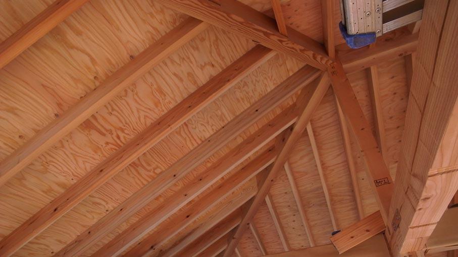 屋根の骨組み_b0061387_18004025.jpg