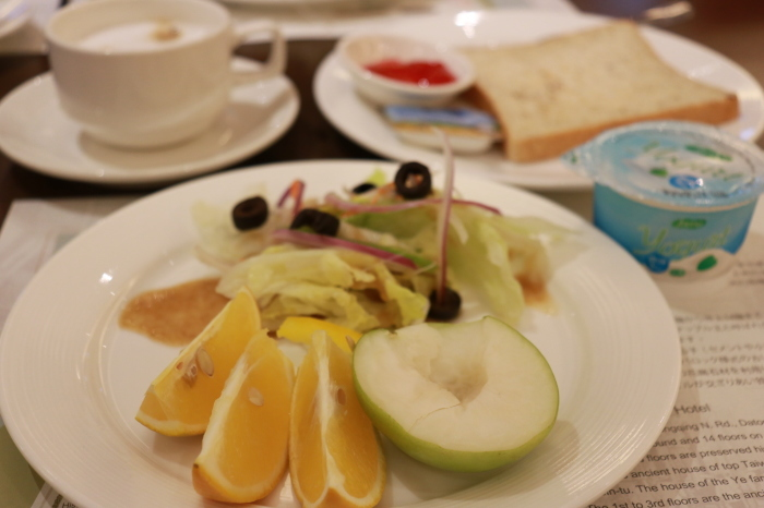 【ホテル朝食】台湾旅行 - 5 -_f0348831_09014319.jpg