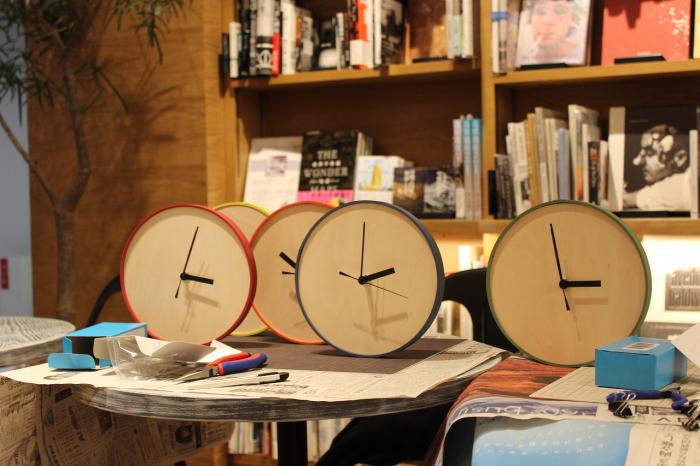 時計づくりのワークショップ at 六本松 蔦屋書店_e0037548_07545759.jpg