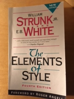 句読点と The Elements of Style_e0350971_12323336.jpg