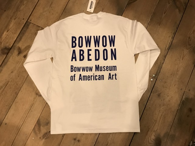 BOW WOW ABEDON LS TEE_d0121303_15103916.jpg