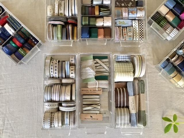 ribbon & tape   整理整頓♪_a0165160_15352575.jpg
