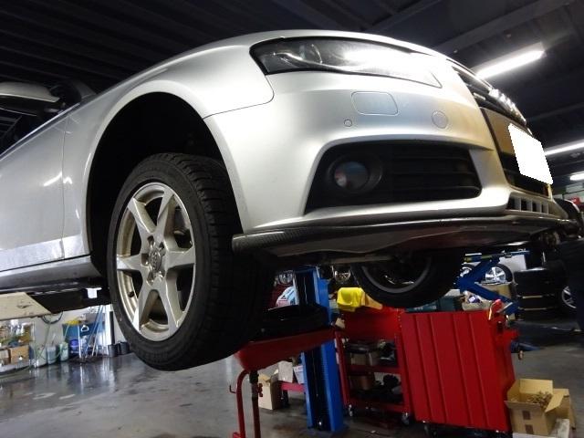 Audi  7速Sトロニックミッション不調修理 _c0219786_13541690.jpg
