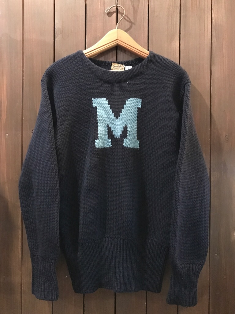 神戸店1/17(水)Vintage入荷! #3 Letterman Sweater!Vintage Sweat!!!_c0078587_13285180.jpg