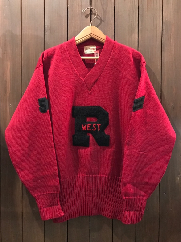 神戸店1/17(水)Vintage入荷! #3 Letterman Sweater!Vintage Sweat!!!_c0078587_13310531.jpg
