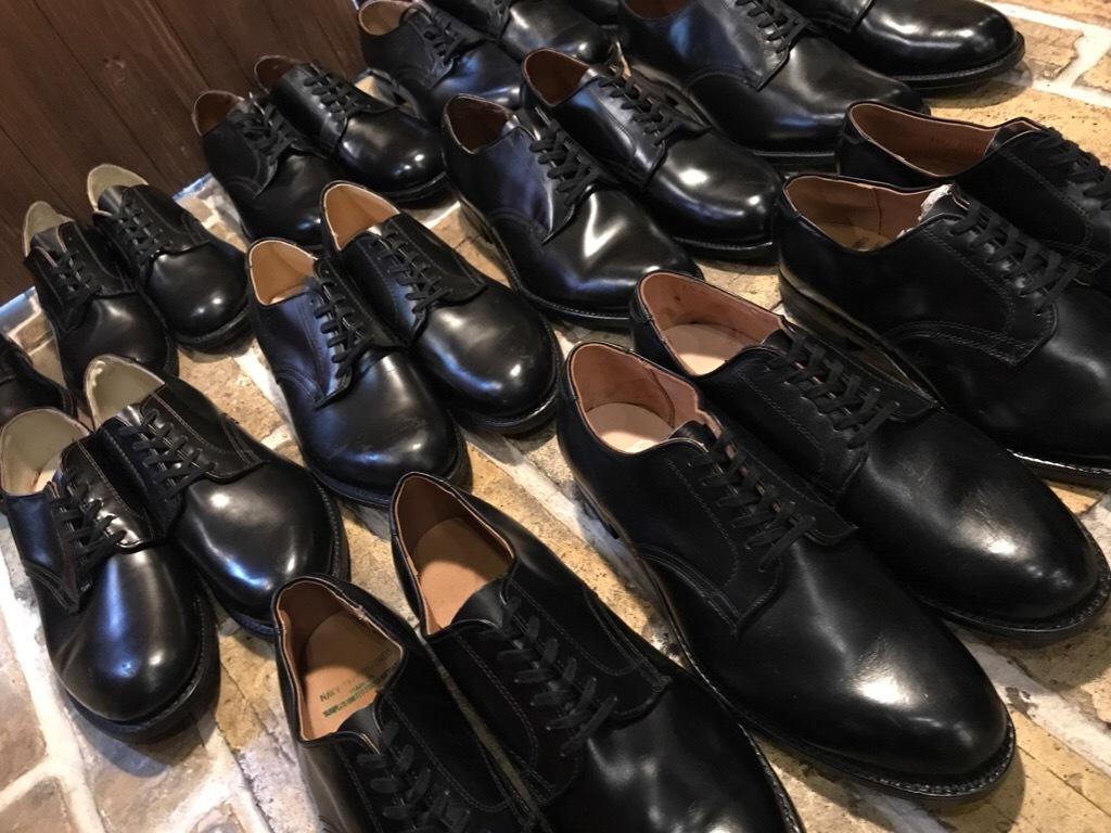 神戸店1/17(水)Vintage入荷! #2 Circa1950\'s NOS US.Navy Service Shoes!!!_c0078587_15024256.jpg