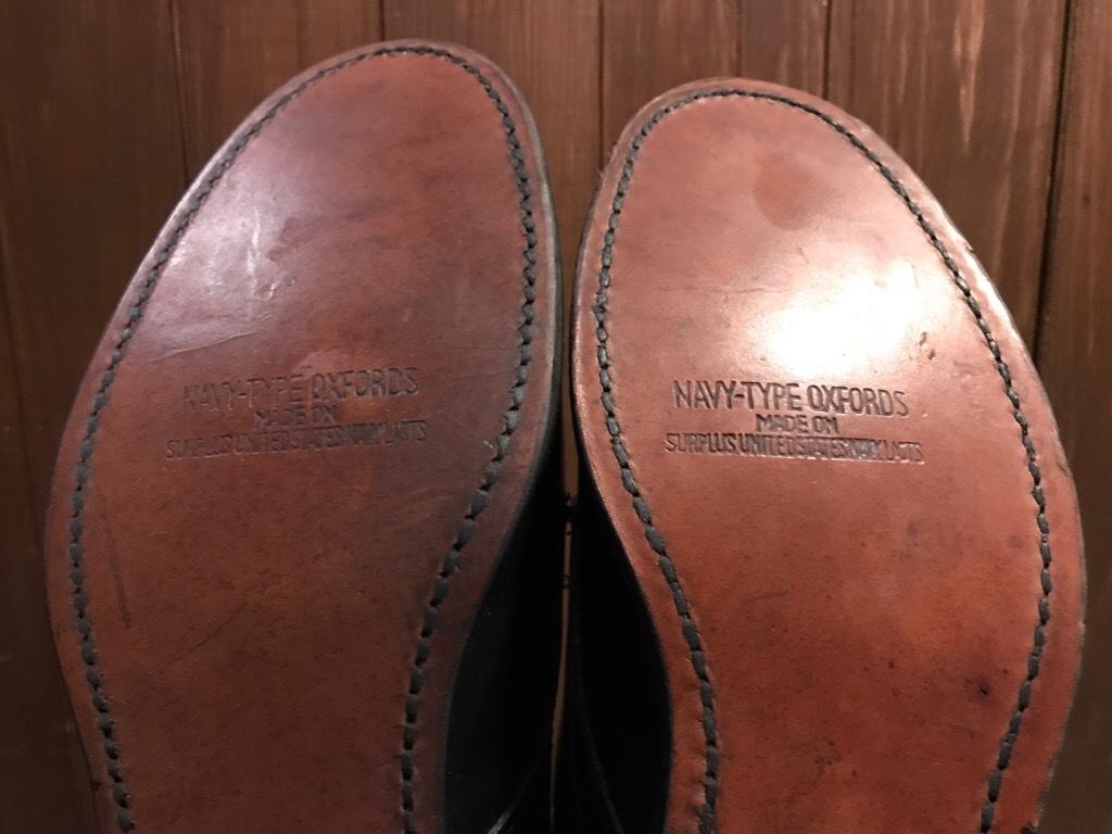 神戸店1/17(水)Vintage入荷! #2 Circa1950\'s NOS US.Navy Service Shoes!!!_c0078587_15104054.jpg