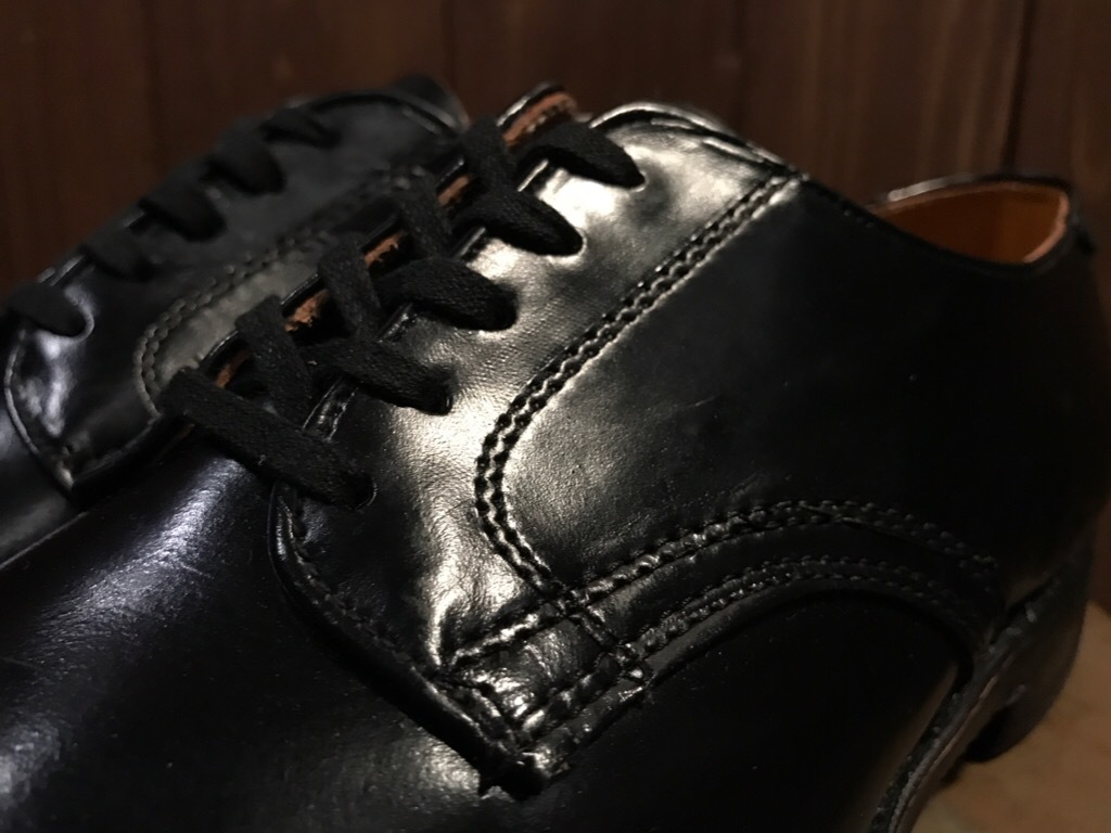 神戸店1/17(水)Vintage入荷! #2 Circa1950\'s NOS US.Navy Service Shoes!!!_c0078587_15183811.jpg