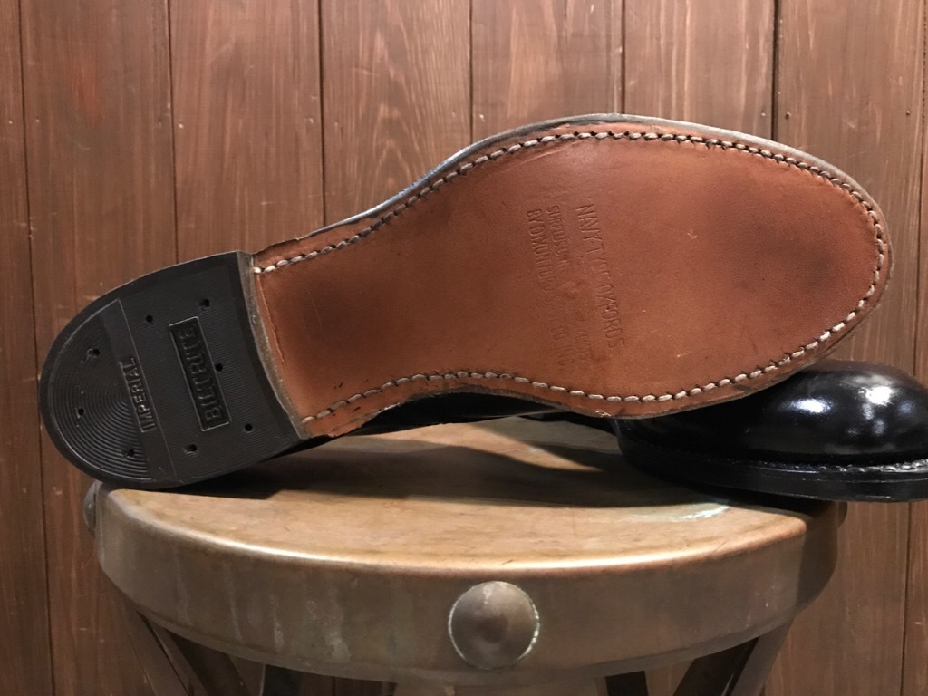 神戸店1/17(水)Vintage入荷! #2 Circa1950\'s NOS US.Navy Service Shoes!!!_c0078587_15183832.jpg