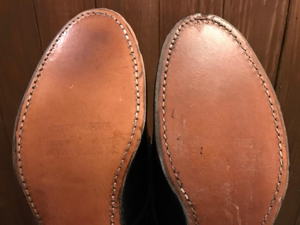 神戸店1/17(水)Vintage入荷! #2 Circa1950\'s NOS US.Navy Service Shoes!!!_c0078587_15183867.jpg