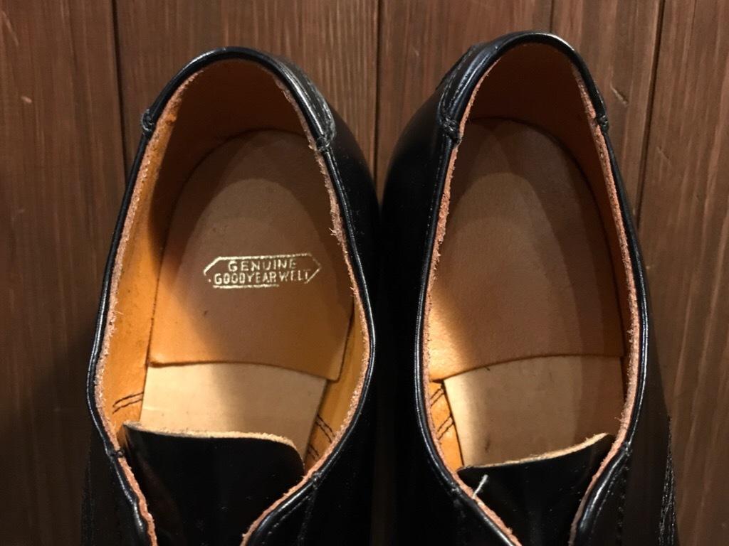 神戸店1/17(水)Vintage入荷! #2 Circa1950\'s NOS US.Navy Service Shoes!!!_c0078587_15183933.jpg