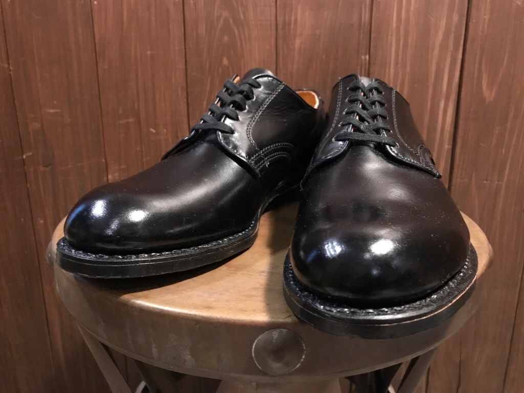 神戸店1/17(水)Vintage入荷! #2 Circa1950\'s NOS US.Navy Service Shoes!!!_c0078587_15183935.jpg
