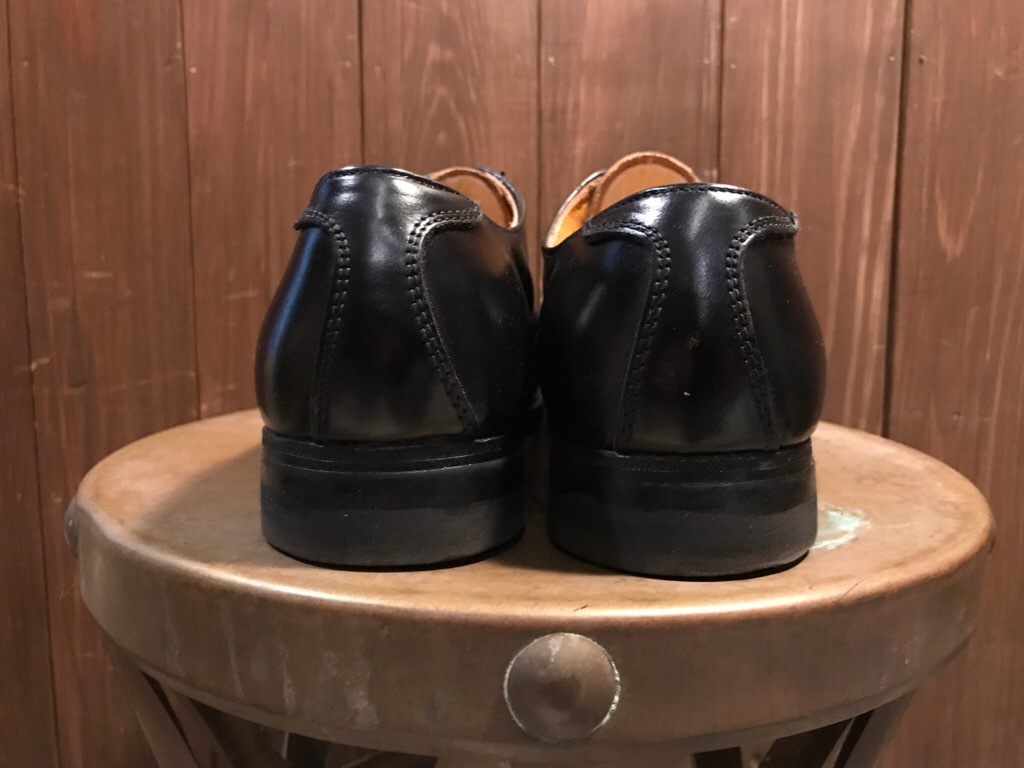 神戸店1/17(水)Vintage入荷! #2 Circa1950\'s NOS US.Navy Service Shoes!!!_c0078587_15183952.jpg