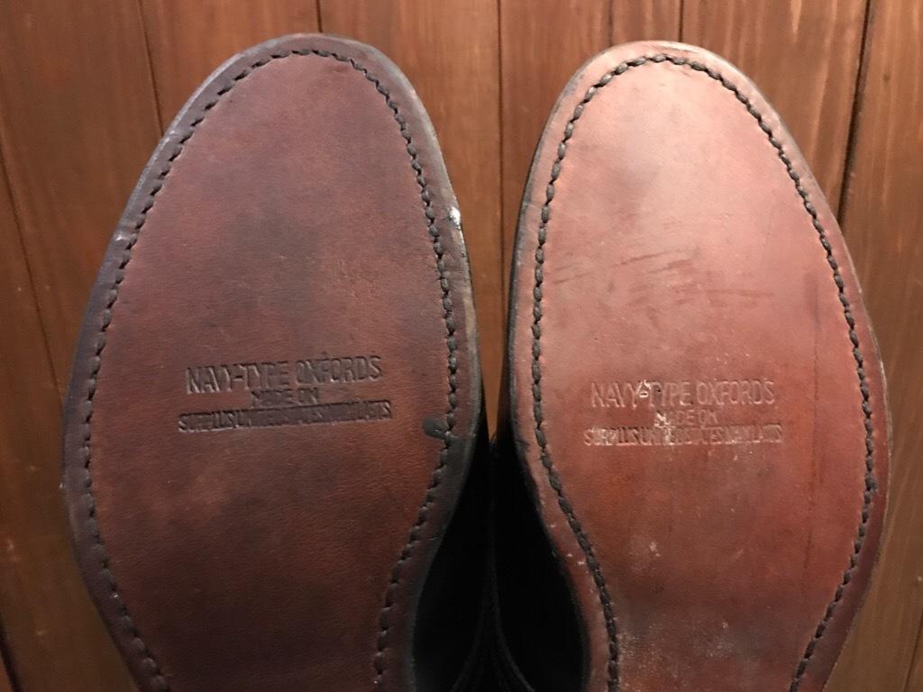 神戸店1/17(水)Vintage入荷! #2 Circa1950\'s NOS US.Navy Service Shoes!!!_c0078587_15193305.jpg